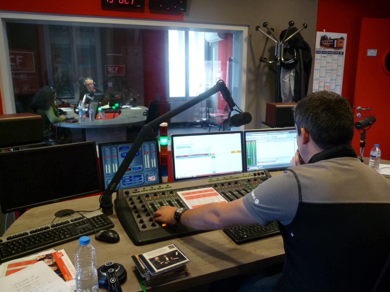 enregistrement studio rcf anjou