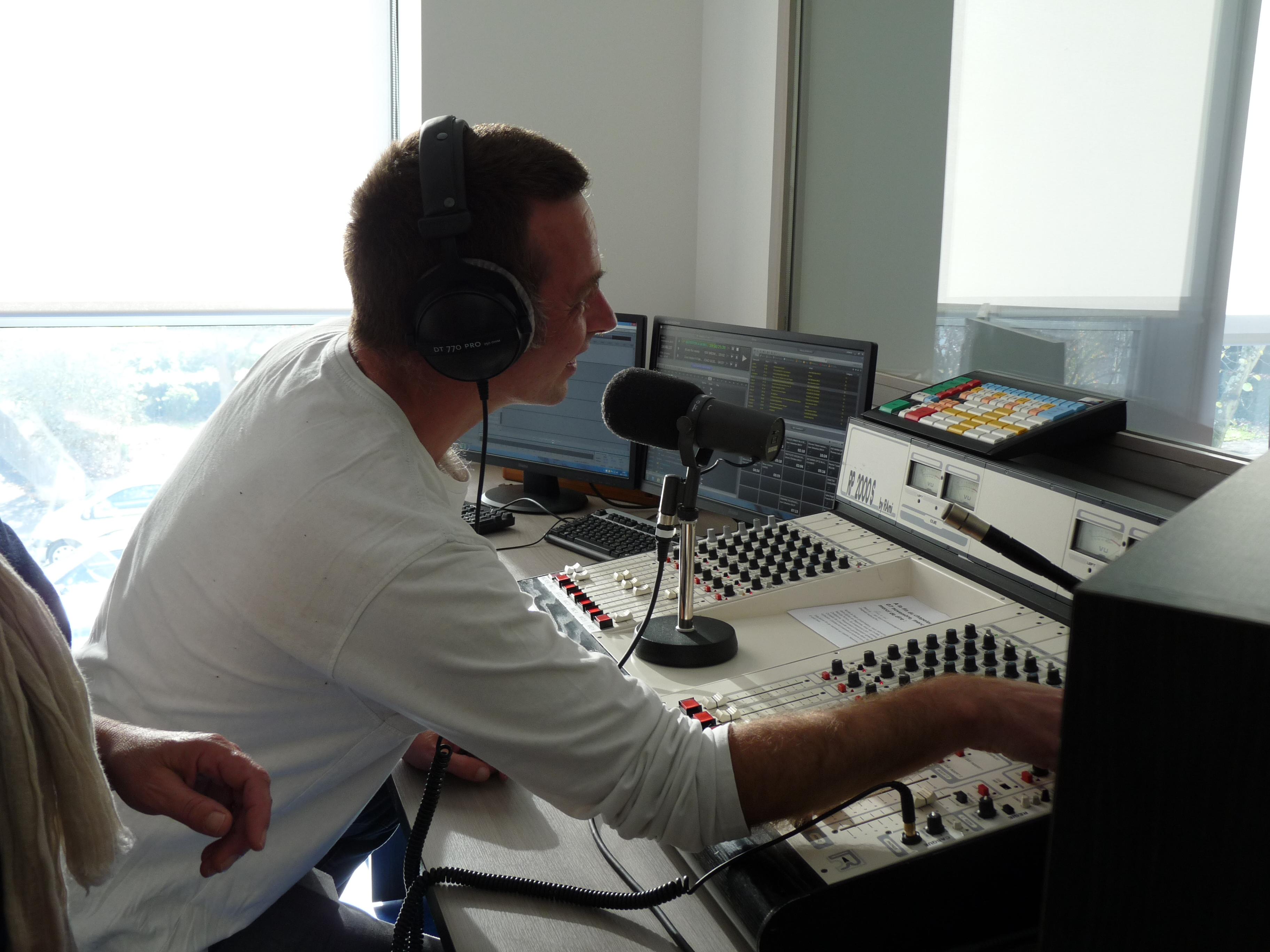 radio fidélité mayenne enregistrement studio
