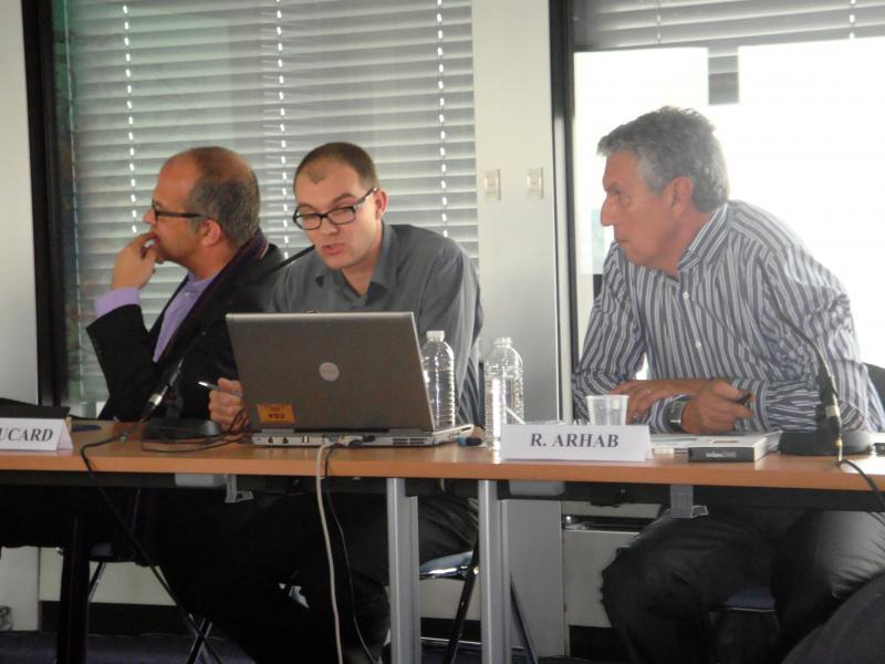 David Kessler, Pierre Boucard, Rachid Arhab