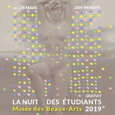 nuit des étudiants musée beaux arts angers