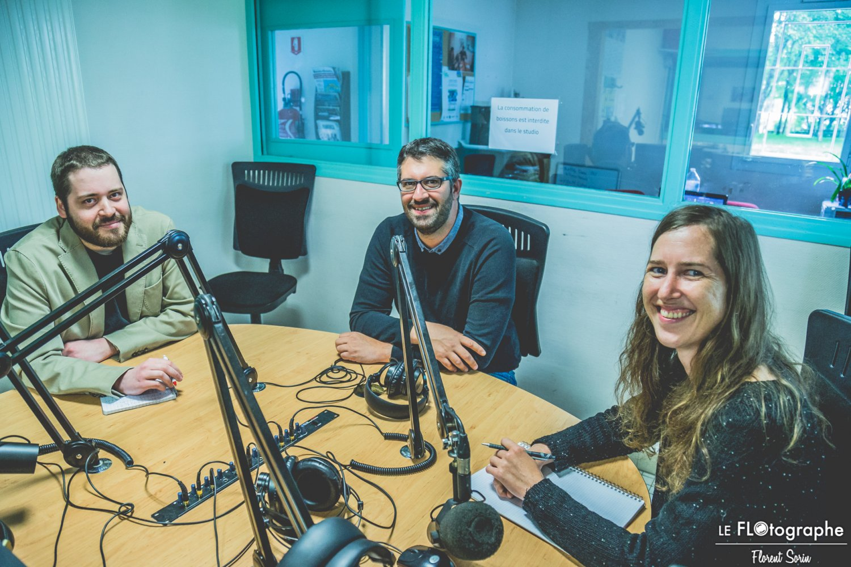 équipe salariée graffiti urban radio studio radio