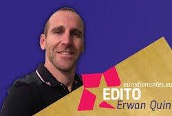 portrait erwan quinio invité de la matinale du vendredi sur Euradio