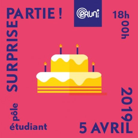 surprise party 20 ans prun'